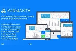 Karmanta-Responsive Admin Template