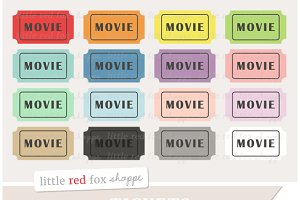 Movie Ticket Clipart