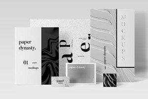 Paper Dynasty-Branding Mockups
