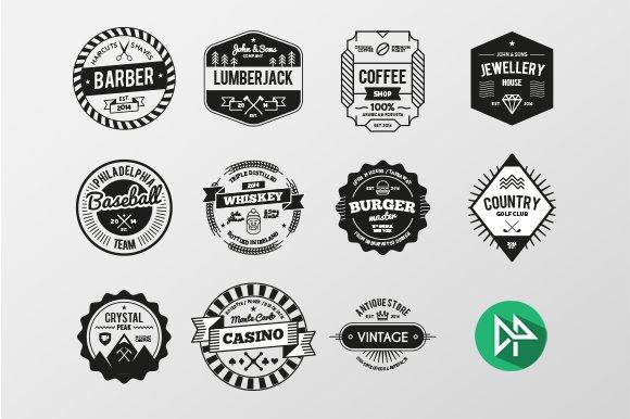logo label creation kit logo templates creative market