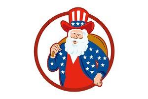 American Father Christmas Santa