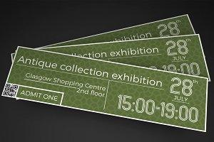 Multipurpose Classy Event Ticket
