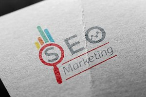 Seo Pro Marketing Logo