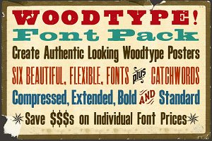 Woodblock Font Pack