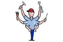 Tradesman Carpenter Mechanic Plumber