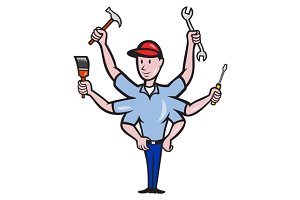 Tradesman Carpenter Mechanic Plumber