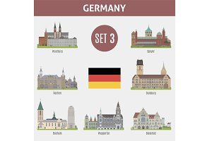 Famous Places cities in Germany