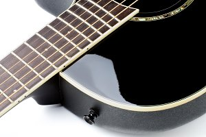 Acoustic Guitar Fingerboard
