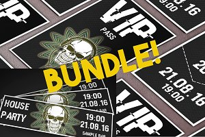 House Party Ticket&VIP pass bundle