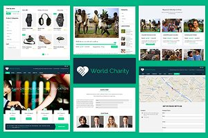Charity Fund Raising WordPres Theme
