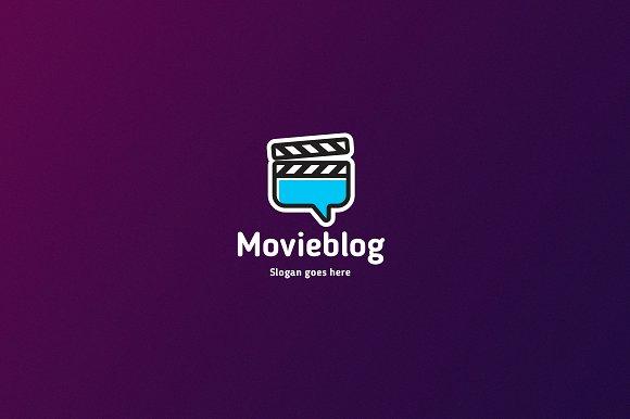 Movie Blog Logo Template