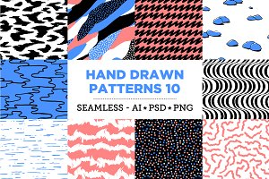 Hand Drawn Patterns 10