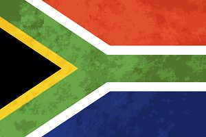 True proportions South Africa flag