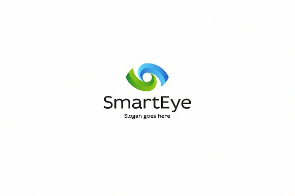 smart eye logo template logo templates creative market