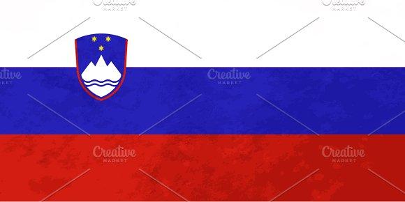 True proportions Slovenia flag