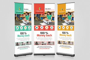 Education Roll up Banner