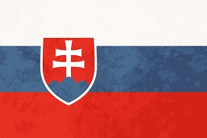 True proportions Slovakia flag