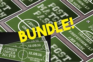Soccer Event Ticket&Pass bundle