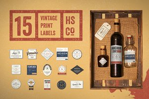 The Vintage Label Kit