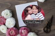 CD Label Template | Hugs and Kisses