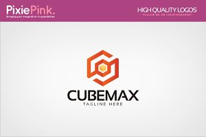 Cube Max Logo Template
