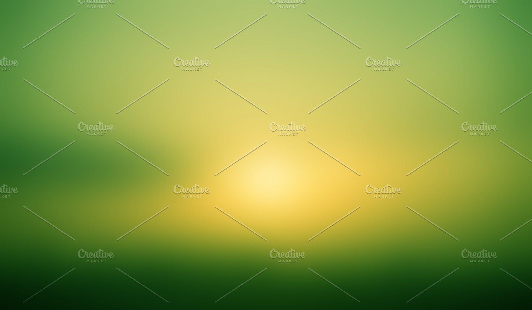 Green Yellow Gradient Background