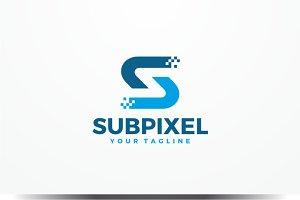 Subpixel - Letter S Logo