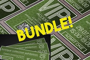 Multipurpose Ticket&VIP pass bundle