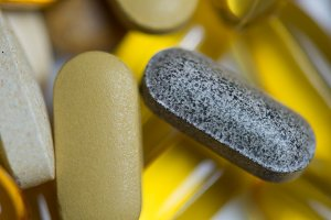 Drug pills food supplement
