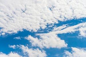 Blue sky cloudy