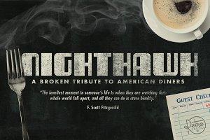 NightHawk Font