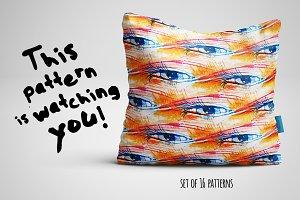 """""""watching you"""" set of patterns"""