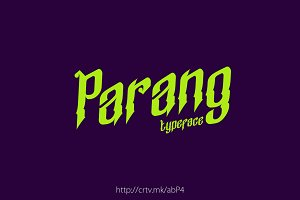 Parang Typeface