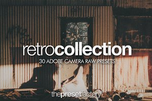 Retro Collection - Adobe Camera Raw