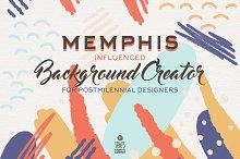 Memphis Background Creator