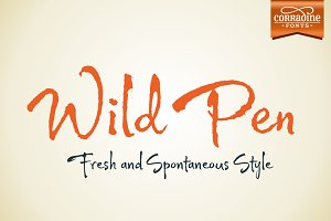 Wild Pen (Five fonts)