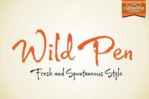 Wild Pen (Five fonts)