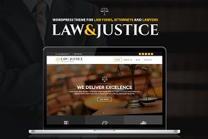 Law&Justice:Attorney WordPress Theme