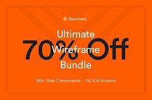 Basement Wireframe Bundle – 70% Off