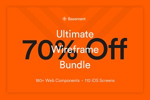 Basement Wireframe Bundle – 70% Off