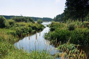 River Nerskaya  flows into Lake