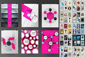 72 posters templates  bundle