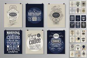 36 posters templates bundle