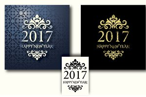 2017 New Year Cards