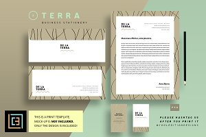 Business Stationery 2 - Terra