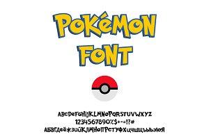 Pokemon GO Font