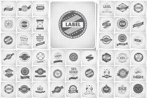 Premium, Guarantee Labels set