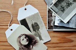 vintage tags...