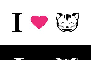 I love cat symbolic message.