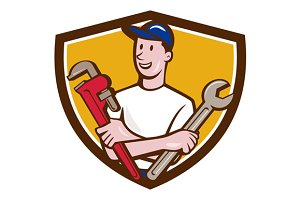Handyman Spanner Monkey Wrench